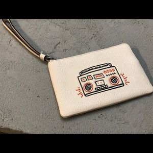 Coach Keith Haring wristlet in chalk